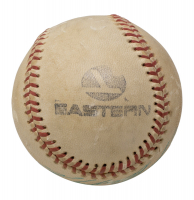 Roberto Clemente Signed Baseball With Display Case (PSA LOA) at PristineAuction.com