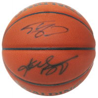 Kobe Bryant & Shaquille O'Neal Signed NBA Basketball (Schwartz COA) at PristineAuction.com