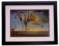 "Salvador Dali ""The Temptation of St. Anthony"" 18x20 Custom Framed Print Display at PristineAuction.com"