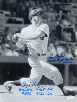 Jim Lonborg & Paul Foytack Signed 11x14 Photo with (2) Inscriptions (JSA COA) at PristineAuction.com