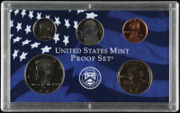 2002-S U.S. Mint Proof Set with (5) Coins at PristineAuction.com