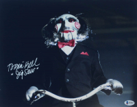 "Tobin Bell Signed ""Saw"" 11x14 Photo Inscribed ""Jigsaw"" (Beckett COA) at PristineAuction.com"