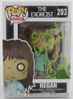 "Linda Blair Signed ""Regan"" #203 The Exorcist Funko Pop Movies Vinyl Figure Inscribed ""Sweet Dreams!"" (Beckett COA) at PristineAuction.com"