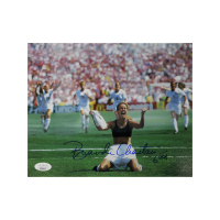 "Brandi Chastain Signed Team USA 8x10 Photo Inscribed ""USA"" (JSA Hologram) at PristineAuction.com"