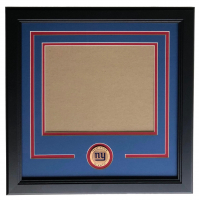 New York Giants 11x14 Horizontal Photo Frame Kit at PristineAuction.com