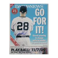 Joe Girardi Signed Yankees 11x14 Photo (Steiner COA & MLB Hologram) at PristineAuction.com