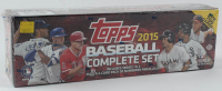 Complete Set of (700) 2015 Topps Baseball Cards at PristineAuction.com