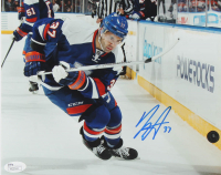 Brian Strait Signed Islanders 8x10 Photo (JSA COA) at PristineAuction.com
