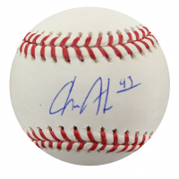 Chance Adams Signed OML Baseball (Steiner Hologram) at PristineAuction.com