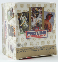 Complete Set of (305) 1991-92 Pro Line Portraits Football Cards at PristineAuction.com