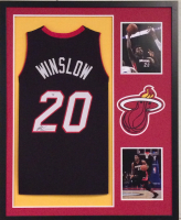 Justice Winslow Signed 34x42 Custom Framed Jersey (PSA COA) at PristineAuction.com