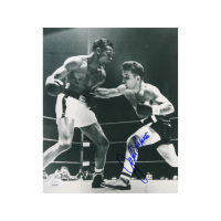 Jake LaMotta Signed 8x10 Photo (JSA Hologram) at PristineAuction.com
