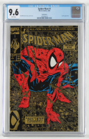 """1990 """"Spiderman"""" Issue #1 Marvel Gold First Issue Comic Book (CGC 9.6) at PristineAuction.com"""