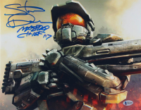 "Steve Downes Signed ""Halo"" 11x14 Photo Inscribed ""Master Chief 117"" (Beckett COA) at PristineAuction.com"