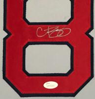 Curt Schilling Signed 34x42 Custom Framed Jersey (JSA COA) at PristineAuction.com