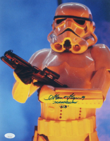 "Alan Flyng Signed ""The Empire Strikes Back"" 11x14 Photo Inscribed ""Stormtrooper"" & ""ESB"" (JSA COA) at PristineAuction.com"