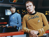 "William Shatner Signed ""Star Trek"" 11x14 Photo (Beckett COA) at PristineAuction.com"