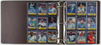 1986 Fleer Complete Set of (660) Vintage Baseball Cards in Binder with Jose Canseco #649 RC at PristineAuction.com