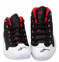 Pair of (2) Allen Iverson Signed Reebok Basketball Shoes (PSA COA) at PristineAuction.com