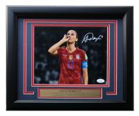 Alex Morgan Signed Team USA Soccer 11x14 Custom Framed Photo Display (JSA COA) at PristineAuction.com