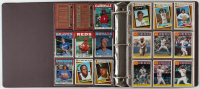 1986 Topps Complete Set of (792) Vintage Baseball Cards in Binder with Cecil Fielder #386 RC, Vince Coleman #370 RC, Kirby Puckett #329, Roger Clemens #661 at PristineAuction.com