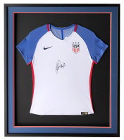 Alex Morgan Signed Team USA 32x36 Custom Framed Jersey (JSA COA) at PristineAuction.com