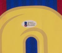 Luis Suarez Signed FC Barcelona 32x36 Custom Framed Jersey (Beckett COA) at PristineAuction.com