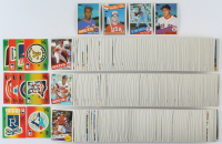 1985 Topps Complete Set of (792) Baseball Cards with Mark McGwire #401 Olympics RC, Roger Clemens #181 RC, Kirby Puckett #536 RC, Dwight Gooden #620 RC at PristineAuction.com