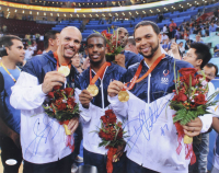 Deron Williams & Jason Kidd Signed Team USA 16x20 Photo (JSA COA) at PristineAuction.com