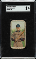 Fred Clarke 1909-11 Sweet Caporal T206 #90 / Holding Bat (SGC 1) at PristineAuction.com