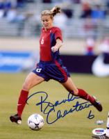 Brandi Chastain Signed Team USA 8x10 Photo (PSA COA) (See Description) at PristineAuction.com