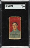 Jimmy Collins 1909-11 Polar Bear T206 #101 / Minneapolis ML (SGC 1) at PristineAuction.com