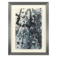 "Wyland Signed ""Pollack Coral Reef"" 23x30 Custom Framed Original Watercolor Painting at PristineAuction.com"