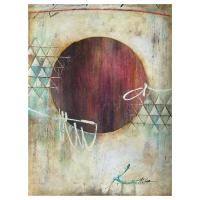 "John Milan Signed ""Circle of Trust II"" 24x18 Original Painting at PristineAuction.com"