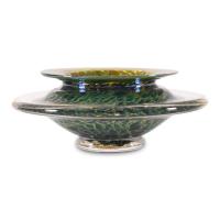 "GartnerBlade Glass Signed ""Large Ikebana Flower Bowl"" Hand-Blown Glass Bowl at PristineAuction.com"