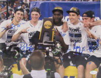 2016 Villanova Wildcats National Champions 11x14 Photo Team-Signed by (5) Including Kevin Rafferty, Daniel Ochefu, Henry Lowe (JSA COA) at PristineAuction.com