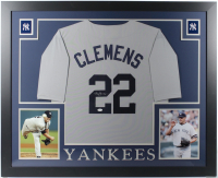 Roger Clemens Signed 35x43 Custom Framed Jersey (JSA COA) at PristineAuction.com