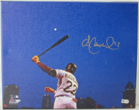 Andrew McCutchen Signed Pirates 11x14 Photo on Canvas (MLB Hologram) at PristineAuction.com