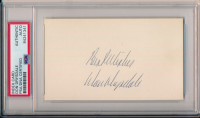 """Don Drysdale Signed 3x5 Index Card Inscribed """"Best Wishes"""" (PSA Encapsulated) at PristineAuction.com"""