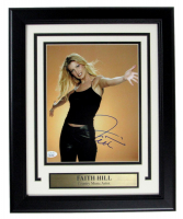 Faith Hill Signed 13.5x16 Custom Framed Photo (JSA COA) at PristineAuction.com