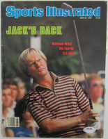 Jack Nicklaus Signed 1980 Sports Illustrated Magazine (PSA LOA) at PristineAuction.com