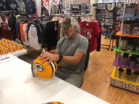 Brett Favre Signed Packers Full-Size Authentic On-Field Speed Helmet (Radtke COA) at PristineAuction.com