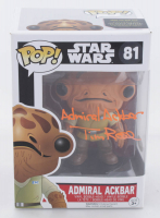 "Tim Rose Signed ""Admiral Ackbar"" Star Wars #81 Funko Pop! Vinyl Figure Inscribed ""Admiral Ackbar"" (JSA COA) at PristineAuction.com"