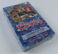 1995 Coors Collector's Cards Box with (36) Packs at PristineAuction.com
