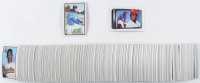 1989 Bowman Complete Set of (484) Baseball Cards with #220 Ken Griffey Jr. RC, #259 Ken Griffey Sr. at PristineAuction.com