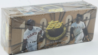1997 Topps Series 1 & 2 Baseball Card Box Complete Set with (495) Cards at PristineAuction.com