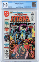 "1982 ""The New Teen Titans"" Issue #21 D.C. Comic Book (CGC 9.0) at PristineAuction.com"