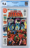 """1982 """"The New Teen Titans"""" Issue #21 D.C. Comic Book (CGC 9.6) at PristineAuction.com"""