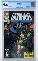 "1991 ""Darkhawk"" Issue #1 Marvel Comic Book (CGC 9.6) at PristineAuction.com"