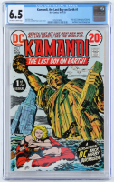 "1972 ""Kamandi, The Last Boy On Earth"" Issue #1 D.C. Comic Book (CGC 6.5) at PristineAuction.com"